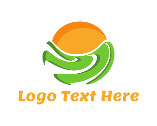 Field - Green Field logo design