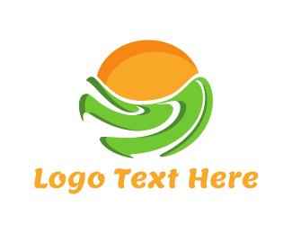 Field - Green Field logo design