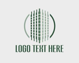 Capital - Green Building Circle logo design