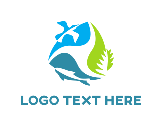 Ecosystem - Environment Cycle logo design