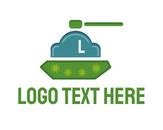 Army - Cloud Tank logo design