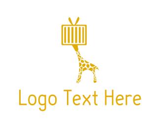 Tv - Giraffe Television logo design