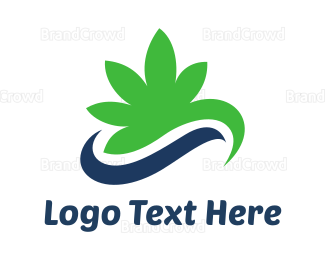 """""""Cannabis Swoosh"""" by town"""
