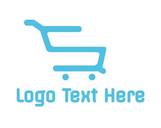 Shopping - Shopping Cart S logo design