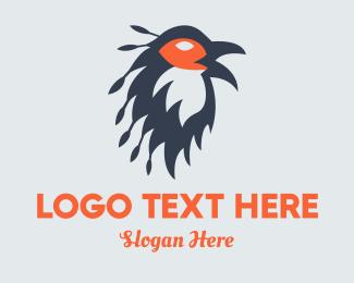 Bird Of Prey - Brown Bird  logo design