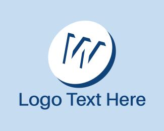 Tablet - White Pill logo design