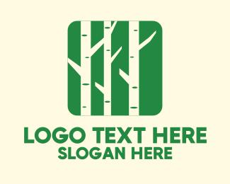Bamboo - Bamboo Tree Mobile Application logo design
