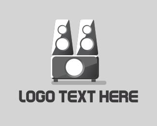 Bass - Grey Woofer logo design