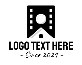 Movie Producer - Film House Studio logo design