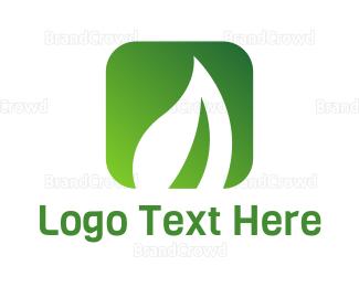 Recipe - Vegan App logo design