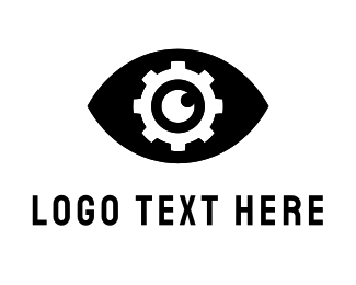 Cog - Industrial Eye logo design