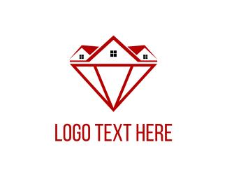 Diamond - Diamond Homes logo design