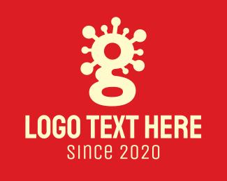 Contagious - Contagious Virus Letter G logo design