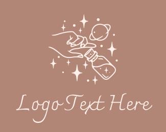 Mystic - Mystic Hand Potion logo design