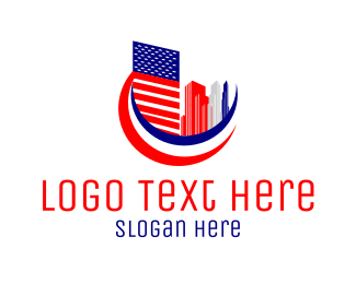 Construction - American City logo design