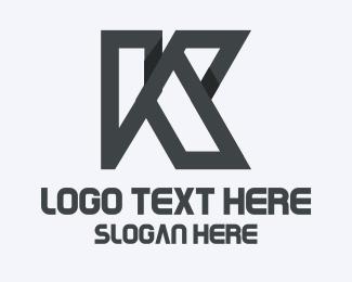 Solid - Solid Letter K logo design