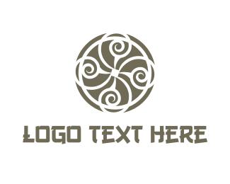 Best - Oriental Circle logo design