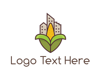 Buildings - Corn City logo design