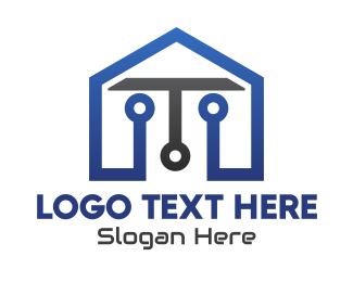 Buy And Sell - Tech House logo design