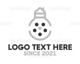 Bulb - Bulb House Reel logo design