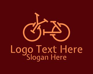 Bike Race - Bicycle Letter YA  logo design