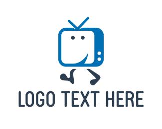 Channel - Happy Television logo design