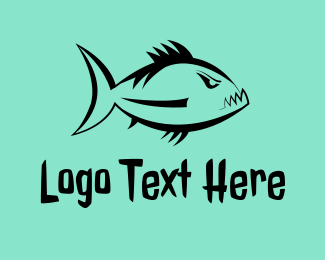 Furious - Furious Piranha logo design