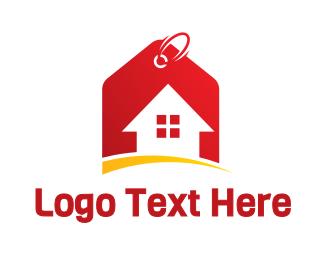 Price - House Price Tag logo design