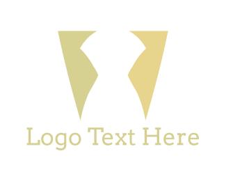 Boutique - White Silhouette logo design