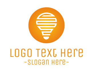 Electrician - Light Bulb logo design