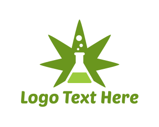 Hemp Oil - Cannabis Labs logo design