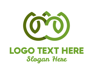 Eco Energy - Green Lotus logo design