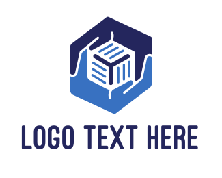 Website - Hexagonal Hands logo design