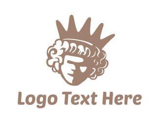 Queen - Queen Crown logo design