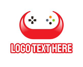 Horns - Gaming Horns logo design
