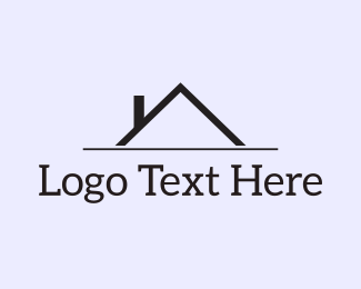 Chimney - Black Roof logo design
