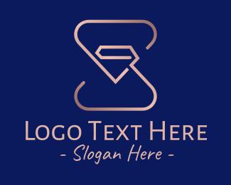 Logo - Super Metallic Diamond logo design
