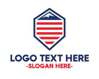 Politician - American Mountain logo design