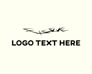 Gothic - Ground Fissure logo design