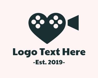 Film - Romance Film logo design