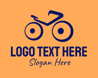 Biking - Blue Bike Shop  logo design