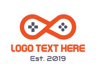 Xbox - Infinity Gaming  logo design