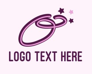 Letter O - Star Letter O logo design