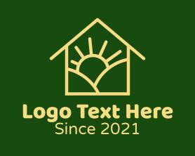 Sunrise - Sunrise House logo design