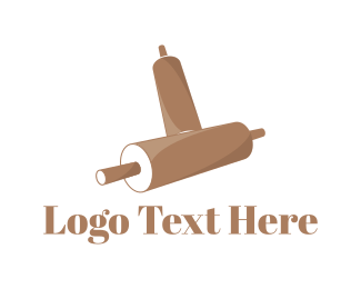 Tradition - Rolling Pin logo design