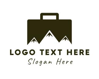 Business Trip - Business Peak logo design