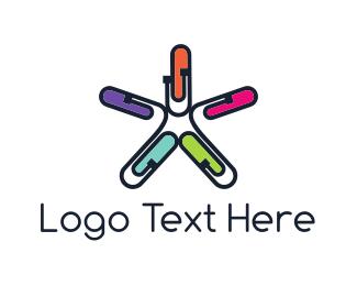 Clip - Office Star logo design