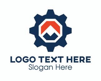 Mining - Mountain Gear logo design