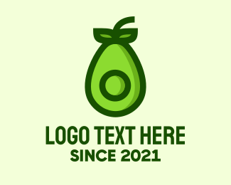 Market - Green Avocado Market logo design