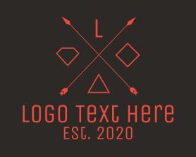 Free - Hipster Symbols logo design